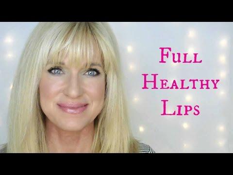 PLUMP FULL HEALTHY LIPS! Dermarolling Lips!