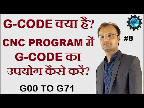 How To Use G-Code In Cnc Programming In Hindi