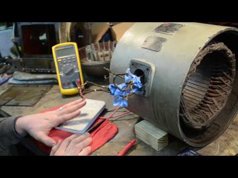 Checking Windings in a 9 Lead 3 Phase Motor