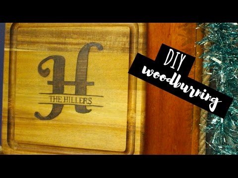 DIY Gifts | Woodburning for Beginners