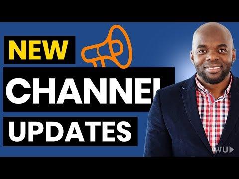 Announcement - Channel changes