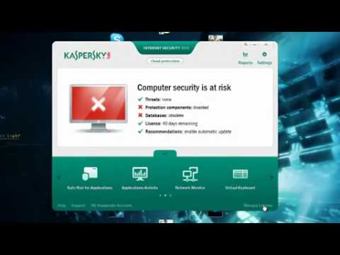 Kaspersky Antivirus 2012 All Version Lifetime Activation Hack.....Working 100%