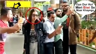 Arjun Kapoor SHOUTS At A Fan For Going Close To GF Maliaka Arora For Selfie At The Airport