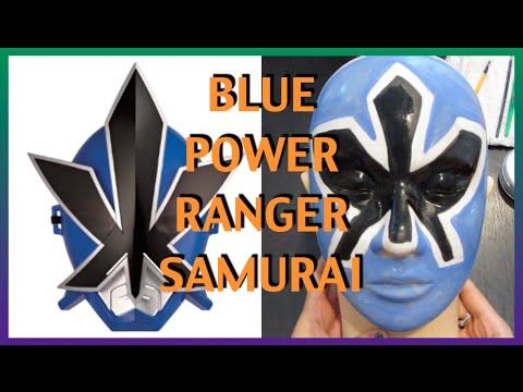 Halloween Edition 2014 - DIY Blue Samurai Power Ranger | Brittnissx3
