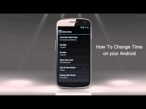 How to Change Time on Android Device