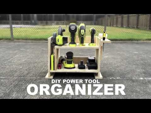 Tool Organizer - DIY Ryobi Power Tool Caddy