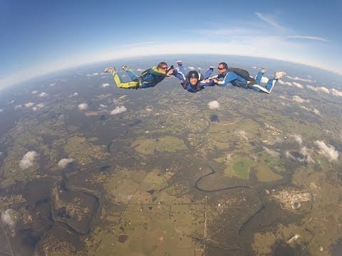 My First Solo Skydive! AFF Stage 1 Dive Sydney