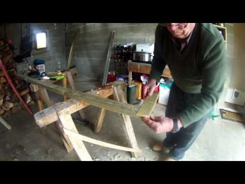 Making a staircase, attic conversion part 1