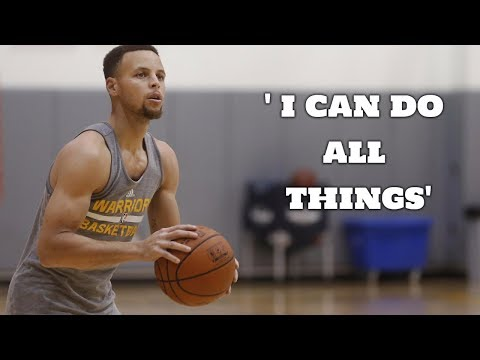 Stephen Curry 'I Can Do All Things' Motivational Workout