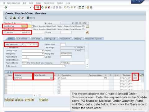 Demo 9.2 Create Two Customer Orders (Trading Goods Scenario)