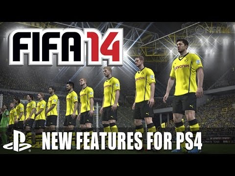 FIFA 14 PS4 Preview - Ultimate Team, 3D Crowds, New Animations