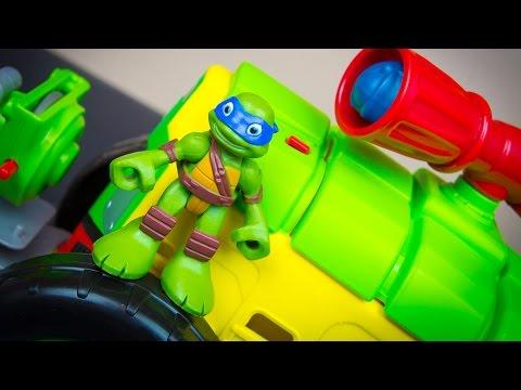 Teenage Mutant Ninja Turtles Half-Shell Heroes Shellraiser Leonardo Ninja Turtle Toys