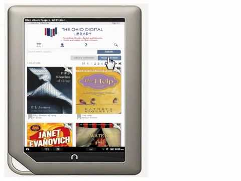 Getting a Library eBook for Your Nook Color