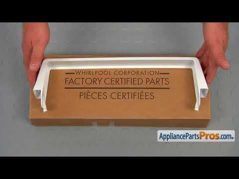 Refrigerator Door Shelf Bar (Part #WP2309941) - How To Replace