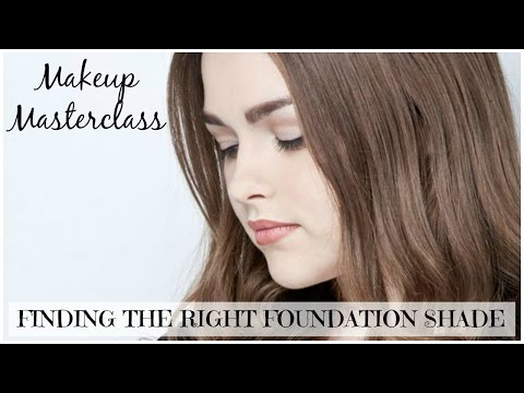Finding the Right Foundation Shade | Makeup Masterclass