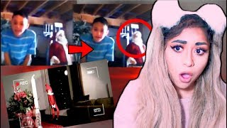 CHRISTMAS TOYS MOVING CAUGHT ON CAMERA!! | SCARY (Reaction)