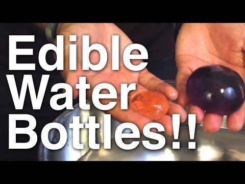 Edible Water Bottles!!