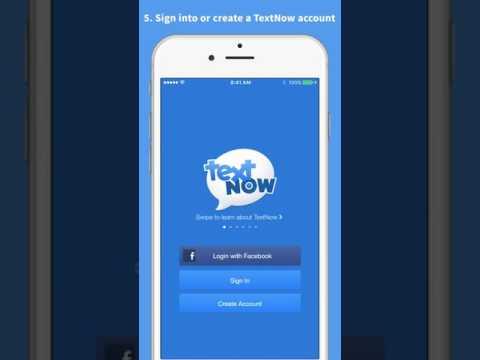 How to Activate your TextNow SIM Card   iOS CDMA