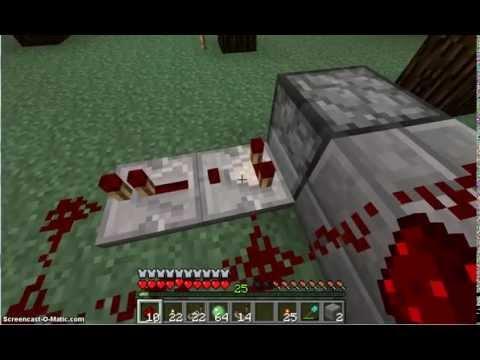 Minecraft Redstone Comparator Clock