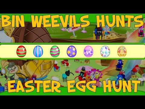 Bin Weevils - Easter Egg Hunt 2013 Answers