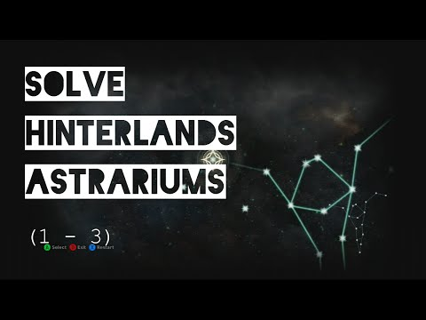 Dragon Age Inquisition - All Hinterlands Astrariums (Star Puzzles Solved)
