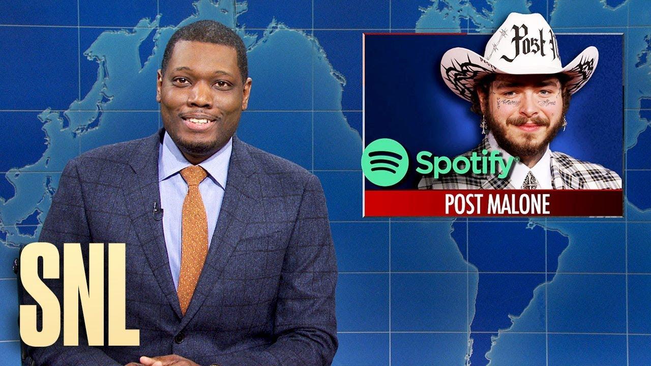 Weekend Update: #1 Spotify Artist and Peloton Backlash - SNL