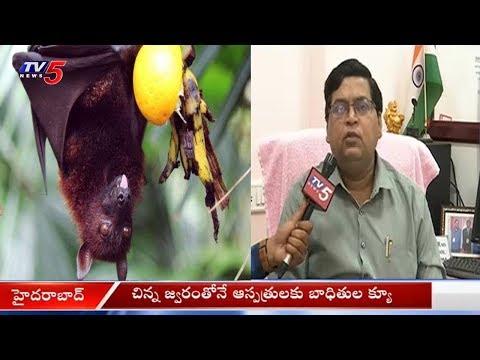 Nipah Virus Effect: నిఫా వైరస్ భయంతో ఆస్పత్రులకు క్యూకడుతున్న జనం..!   Hyderabad   TV5 News