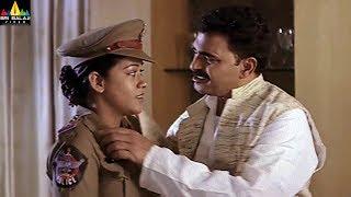 Maisamma IPS Movie Mumaith Khan with Sayaji Shinde Scene | Telugu Movie Scenes | Sri Balaji Video