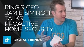 Jamie Siminoff CEO & Founder of Ring - Live Interview at CES 2018
