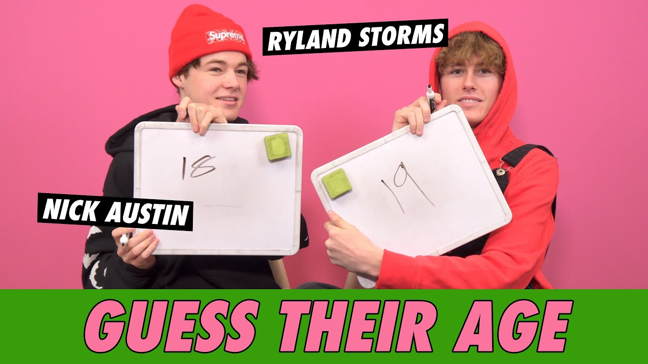 Nick Austin vs. Ryland Storms - Guess Their Age