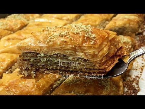 Baklava - Bánh ngon -  Hướng dẫn bằng tiếng Việt