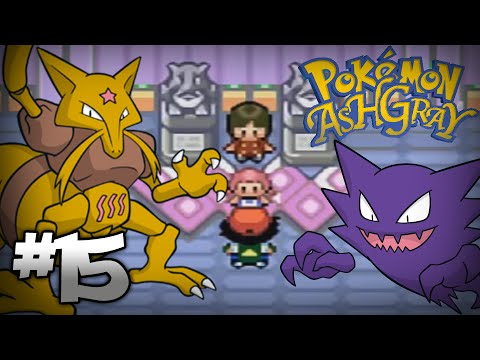 Let's Play Pokemon: Ash Gray - Part 15 - Saffron Gym Leader Sabrina