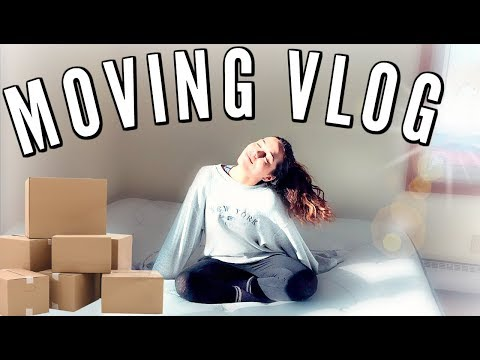 Moving into my First Apartment!! (vlog & empty apartment tour!)