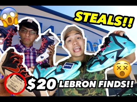 $20 LEBRON STEALS AT MARSHALLS!! (MUST SEE!!)