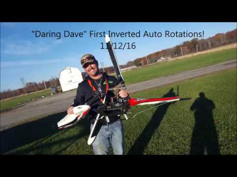 Daring Dave First Inverted Autos - RC Heli