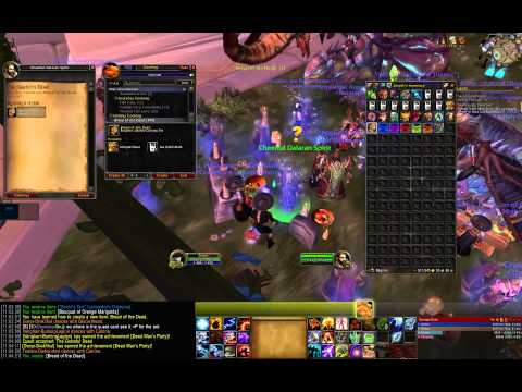 World of Warcraft WoD - Day of the Dead 2014 world event (WoW patch 6.0.3)