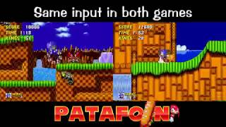 Sonic Challenge : Sonic 1 & 2 at the same time  with SAME INPUT [stream rebroadcast]