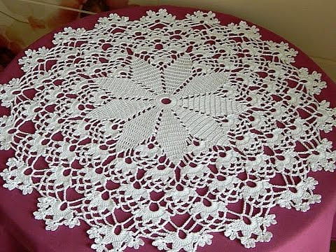 Filet Crochet Tablecloth Patterns Crochet Round Tablecloth Diagram