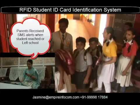 Advanced RFID Student ID Card Identification System-Student Safety