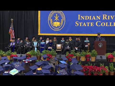 IRSC Commencement Ceremony Baccalaureate Degree Fall 2017