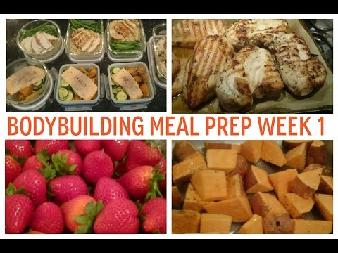 Mini Costco UK Grocery Haul | 3-day Bodybuilding Meal Prep (week 1)
