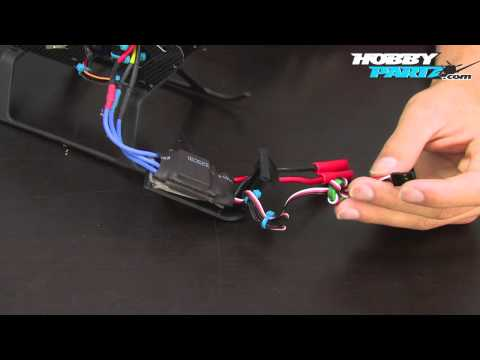 Building an EXI 450 Pro RC Helicopter Part Six