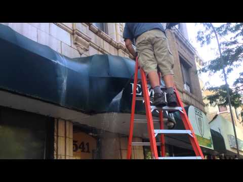 Awning Cleaning Service Chicago