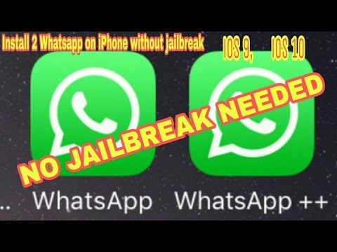 How to install 2 Whatsapp on iPhone without jailbreak/pc/mac. iOS 9, iOS 10. ( May 2017).