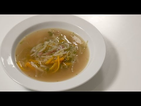 Basic Soup - juliennesuppe - Minestrone - Vegetable Soup