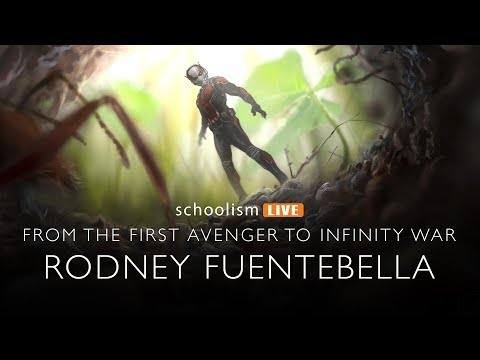 From the First Avenger to Infinity War: Bobby interviews Marvel Artist, Rodney Fuentebella