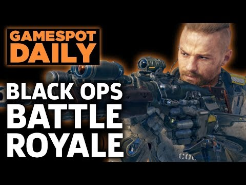 Call Of Duty: Black Ops 4 Has Battle Royale And Zombies - GameSpot Daily