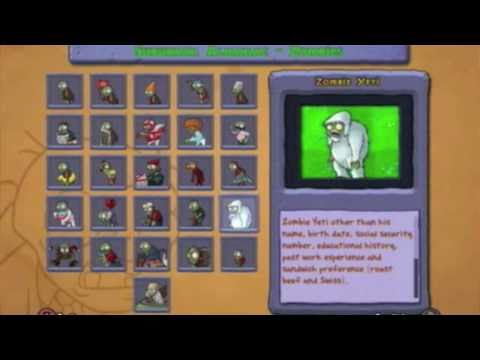 Plants Vs Zombies ~Yeti Zombie~ Xbox 360