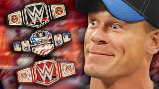 Top 5 Best WWE Championship Title Belts In 2016
