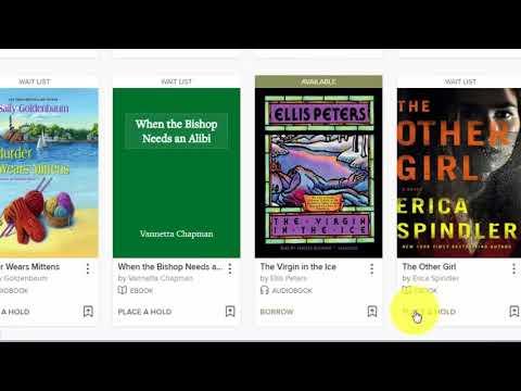 Borrow eBooks & Audiobooks in Overdrive